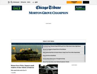 mortongrove.chicagotribune.com screenshot