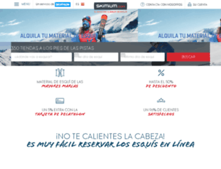 morzine.skimium.es screenshot