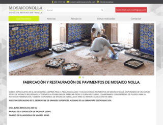 mosaiconolla.com screenshot