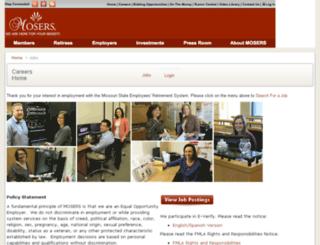 mosers.applicantpro.com screenshot