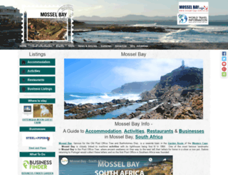 mossel-bay-info.co.za screenshot