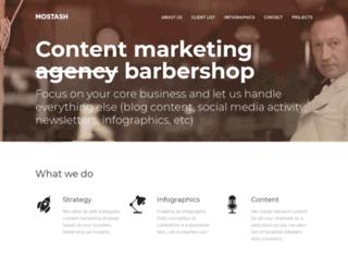 mostash.com screenshot