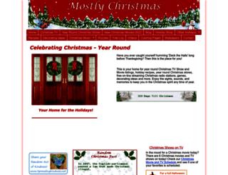 mostlychristmas.com screenshot