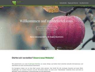 mostviertel.com screenshot