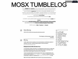 mosx.tumblr.com screenshot