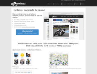 moterus.es screenshot