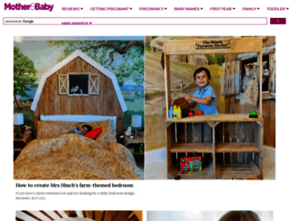 motherandbaby.co.uk screenshot