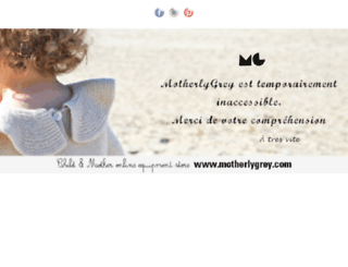motherlygrey.com screenshot