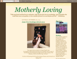 motherlyloving.com screenshot