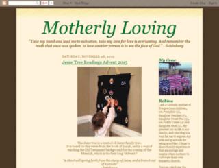 motherlyloving.com screenshot