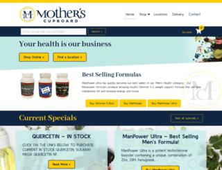 mothersnutrition.com screenshot