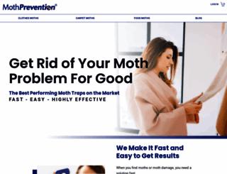mothprevention.com screenshot