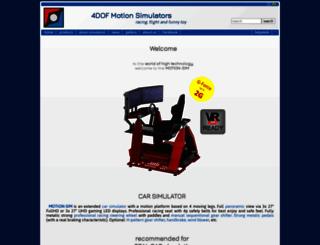 motion-sim.cz screenshot