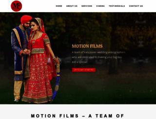 motionfilms.ca screenshot