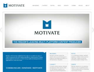motivatepublishing.com screenshot