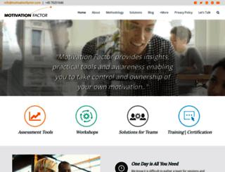 motivationfactor.com screenshot