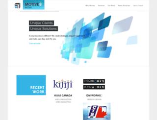 motive8media.ca screenshot