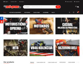 moto-oprema.com screenshot