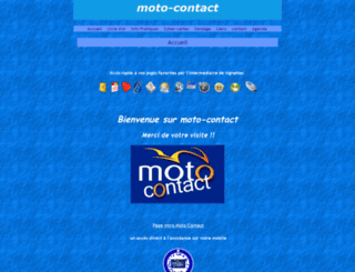 motocontact.e-monsite.com screenshot