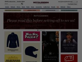 motolegends.com screenshot