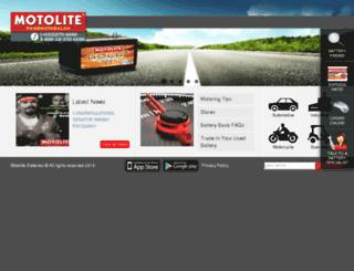 motolite.com screenshot