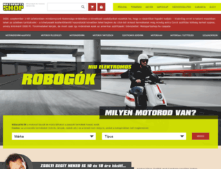 motopartsshop.hu screenshot