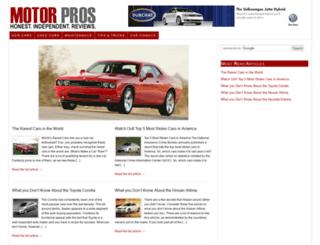 motor-pros.com screenshot