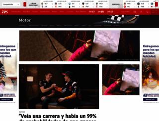 motor.as.com screenshot