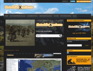 motorbikexperience.com screenshot