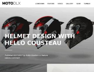motorcycledeluxe.com screenshot