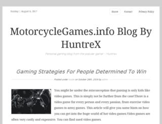 motorcyclegames.info screenshot