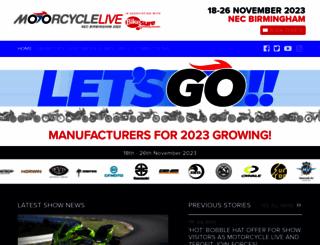 motorcyclelive.co.uk screenshot