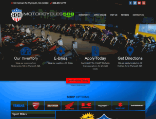 motorcycles508.com screenshot