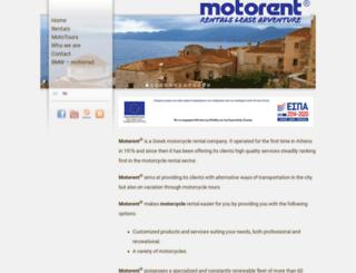 motorent.gr screenshot