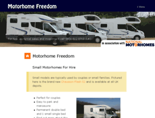 motorhomesdirect.co.uk screenshot