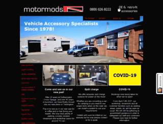 motormods.co.uk screenshot
