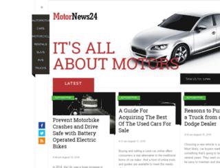 motornews24.com screenshot
