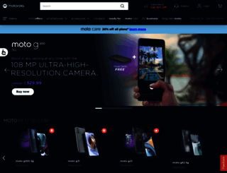 motorola.co.uk screenshot