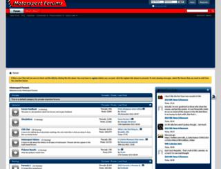 motorsportforums.com screenshot