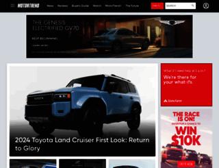 motortrend.com screenshot