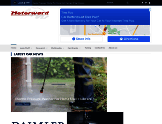 motorward.com screenshot