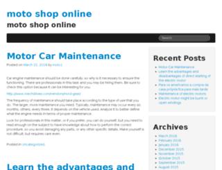 motoshoponline.com.br screenshot