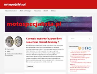 motospecjalista.pl screenshot