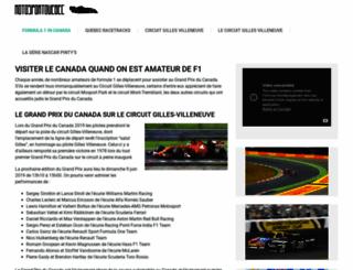 motosportquebec.ca screenshot