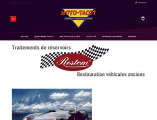 mototacot.fr screenshot