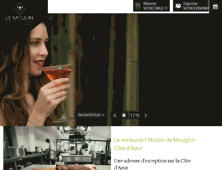 moulin-mougins.com screenshot