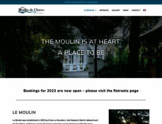 moulindechaves.org screenshot