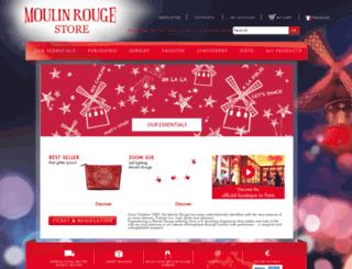 moulinrougestore.com screenshot
