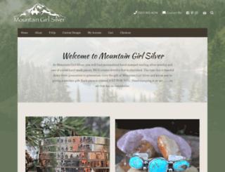 mountaingirlsilver.com screenshot