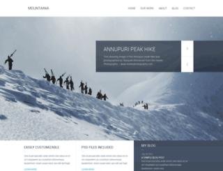 mountainia-wp.ries.cz screenshot